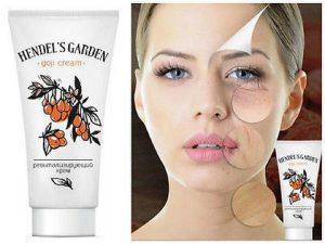 Goji Cream hendels gardenwerkt het, hoe gebruiken?