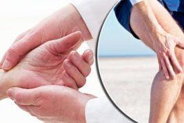 zoals blijkt uit pijn in de spieren en gewrichten